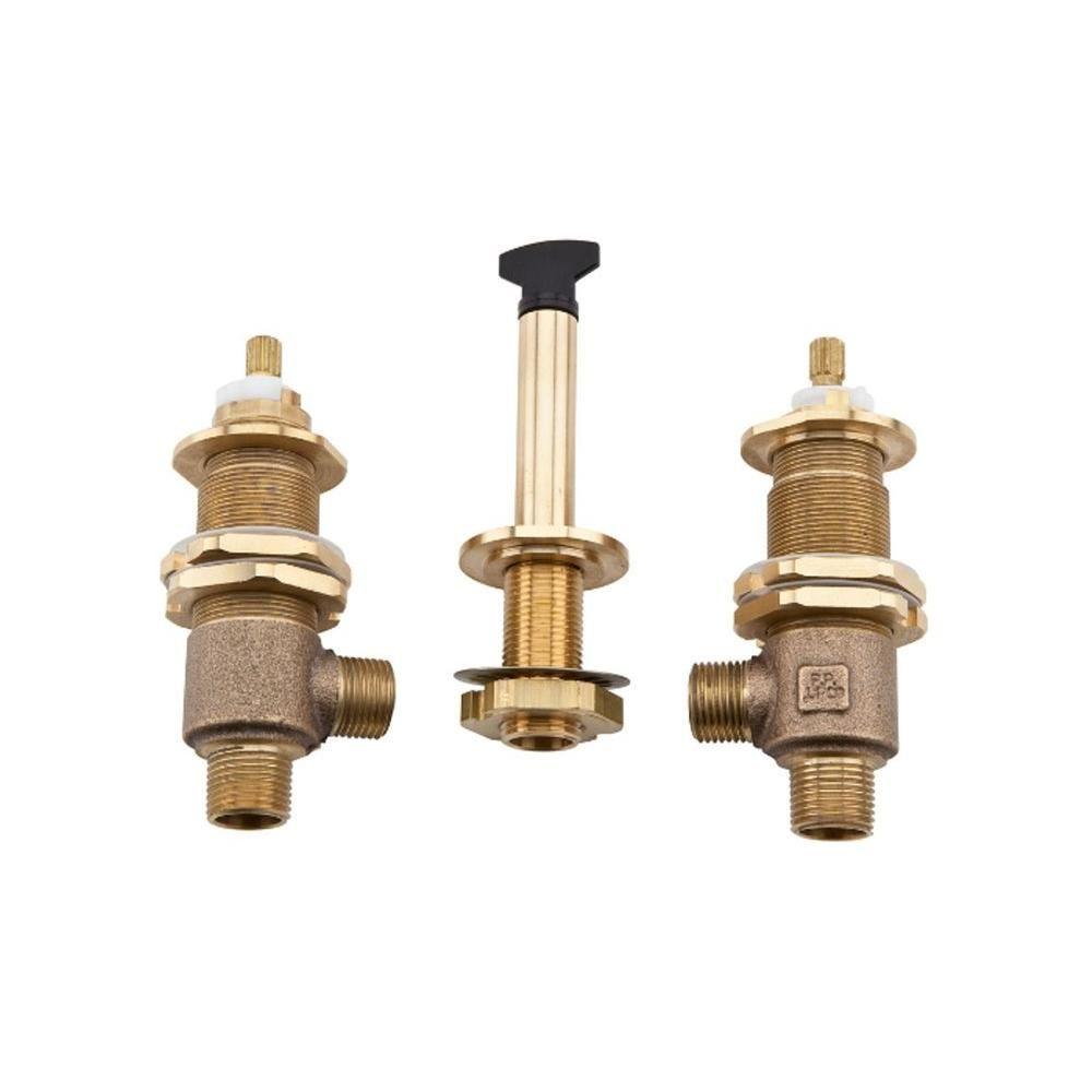 Pfister 1 2 In Loose Roman Tub Valve 0x6 150r Roman Tub Faucets Faucet Bathroom Faucets