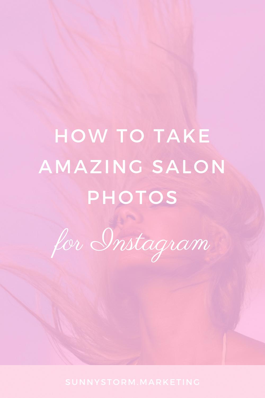 Salon Promotion Idea: Learn how to market your salon on Instagram