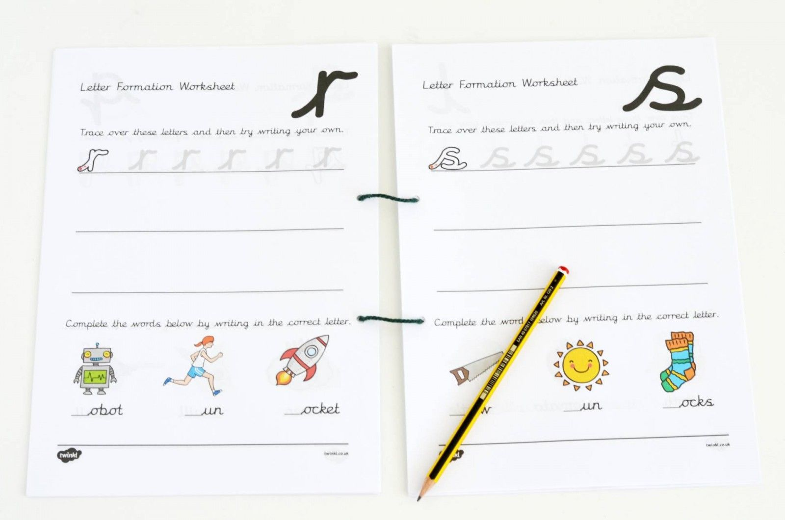 Letter Formation Booklet From Twinkl