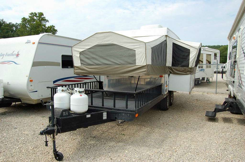 Forest River 2009 28txr Rockwood Freedom Recreational Vehicles Camping Trailer Popup Camper
