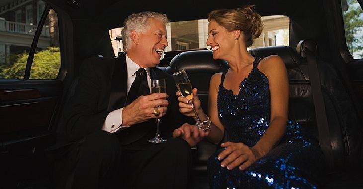 Billionaire marriages last longer limousine town car