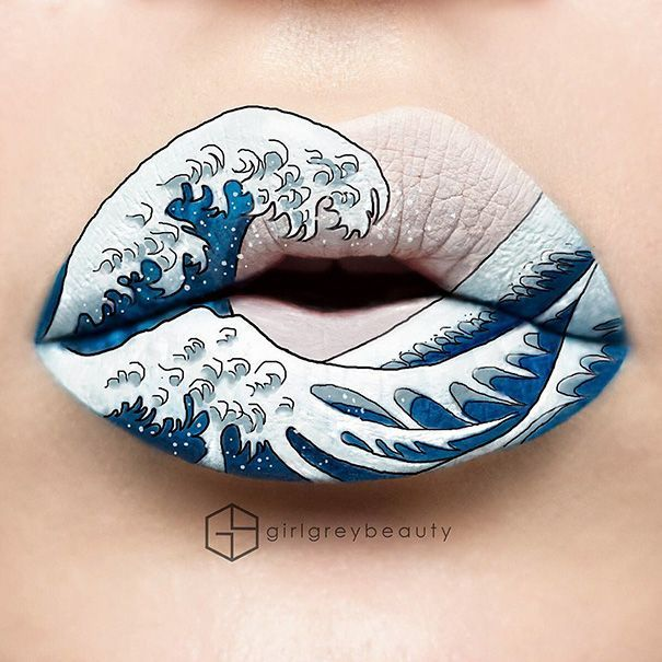 Makeup Artist Turns Her Lips Into Stunning Works Of Art (30 Pics)