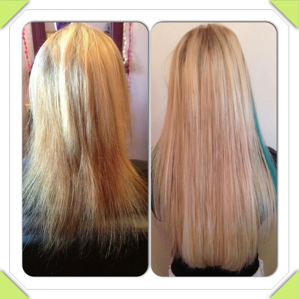 Before And After 16 Great Lengths Hair Extensions By The Great