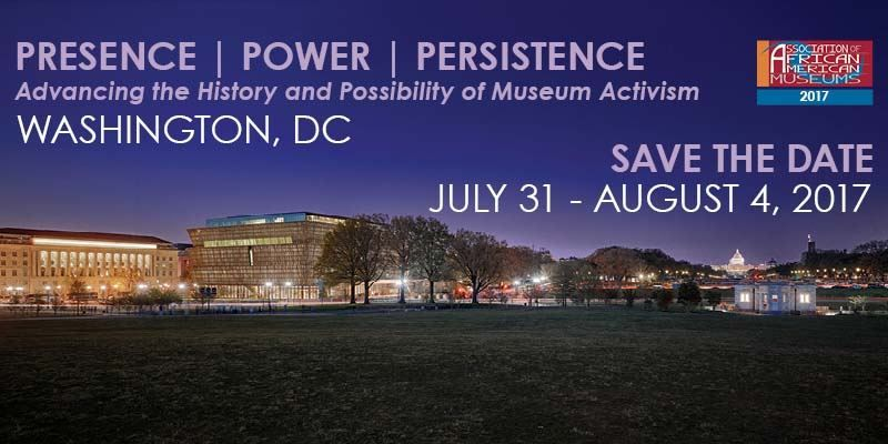 Association of African American Museums - Call for Proposals 2017