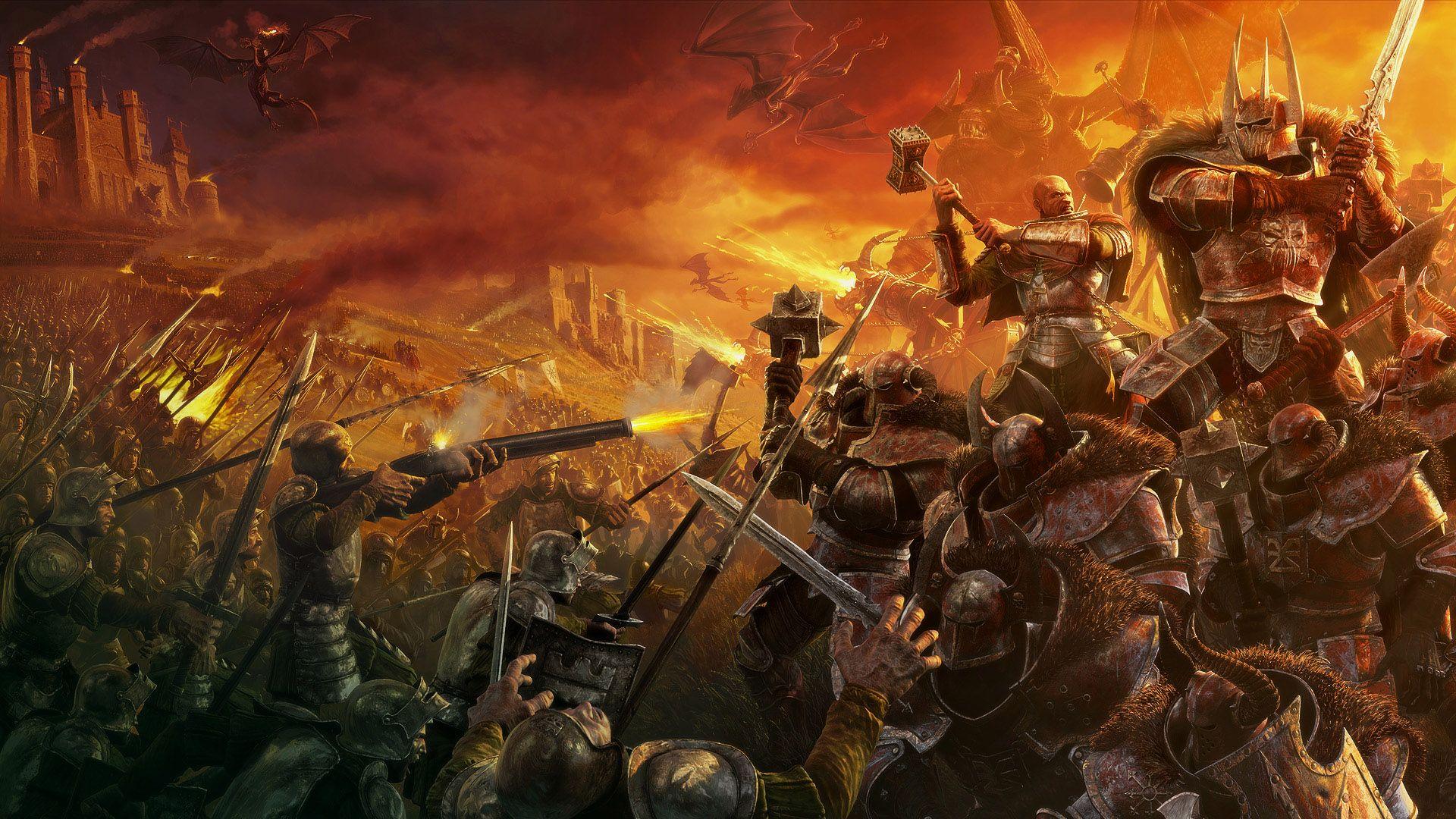 Epic Fight Wallpaper Hd Fantasy Pictures Warriors Wallpaper Fantasy Art