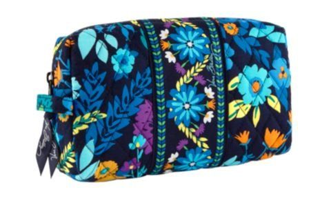 Vera Bradley Medium Cosmetic Bag Midnight Blues Spring 2017 New Discover This Special Product Click The Image Travel