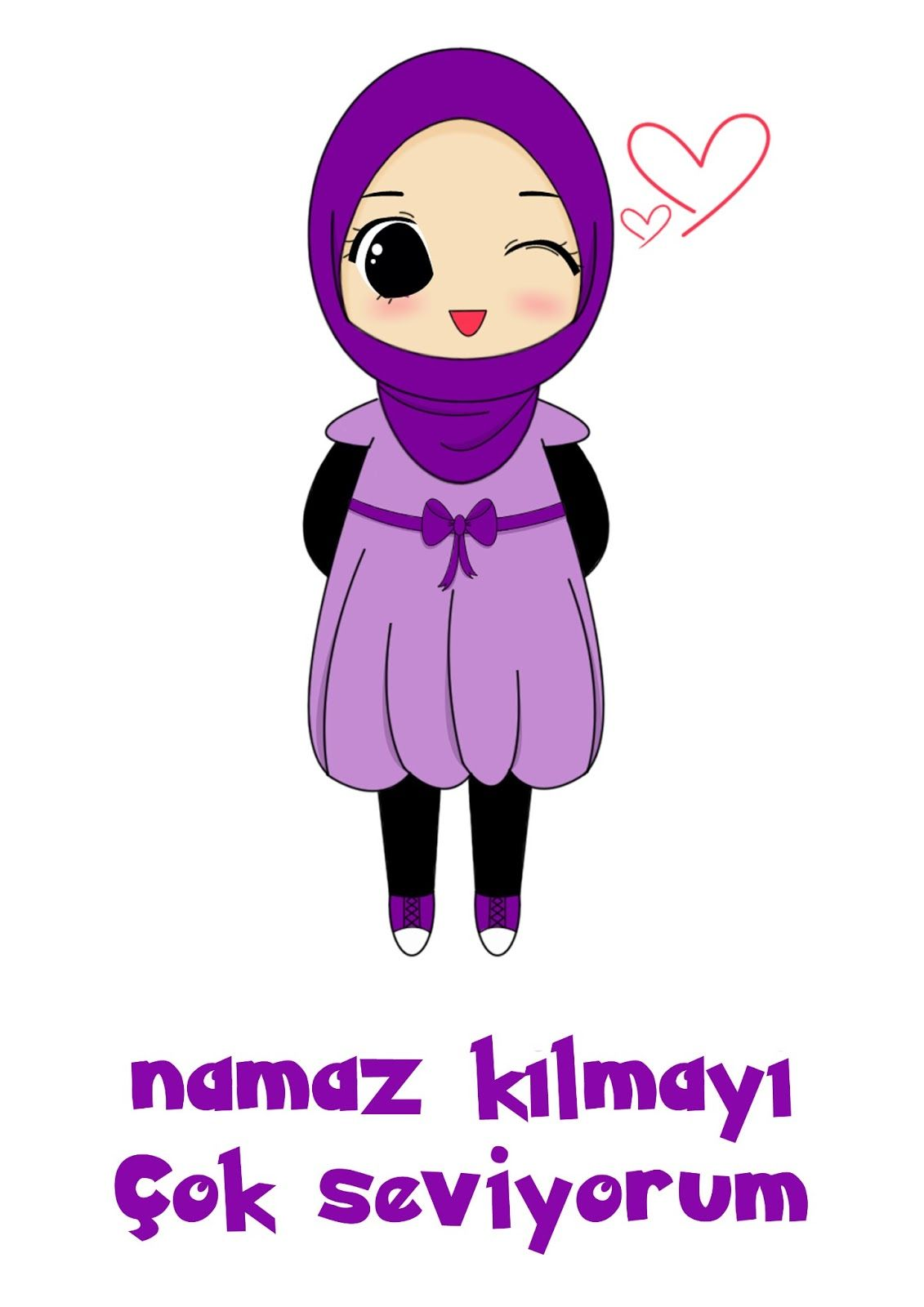 Chibi Hijab Cuteness Islam Pinterest Chibi And Hijabs