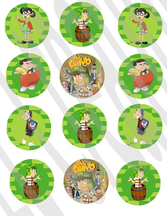 Instant Download El chavo del 8 Stickers by ECDesignss on Etsy