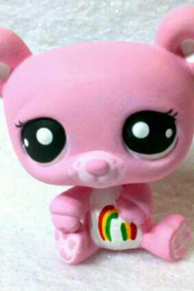 Rainbow pink panda