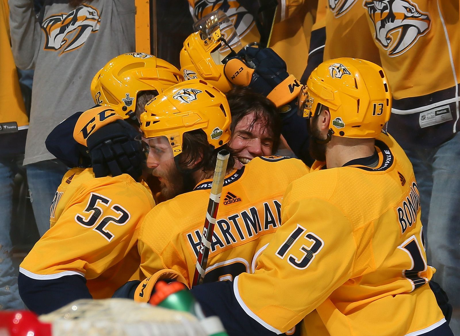 Predators even series after Fiala's game winning goal