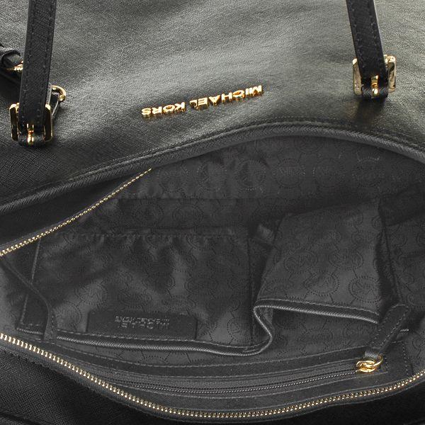 MICHAEL Michael Kors Jet Set Travel Tote Black Shopper Designer Taschen bei Fashionette