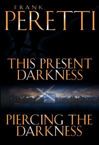 This Present Darkness And Piercing The Darkness By Frank E Peretti Mystery Books Good Books Book Worth Reading