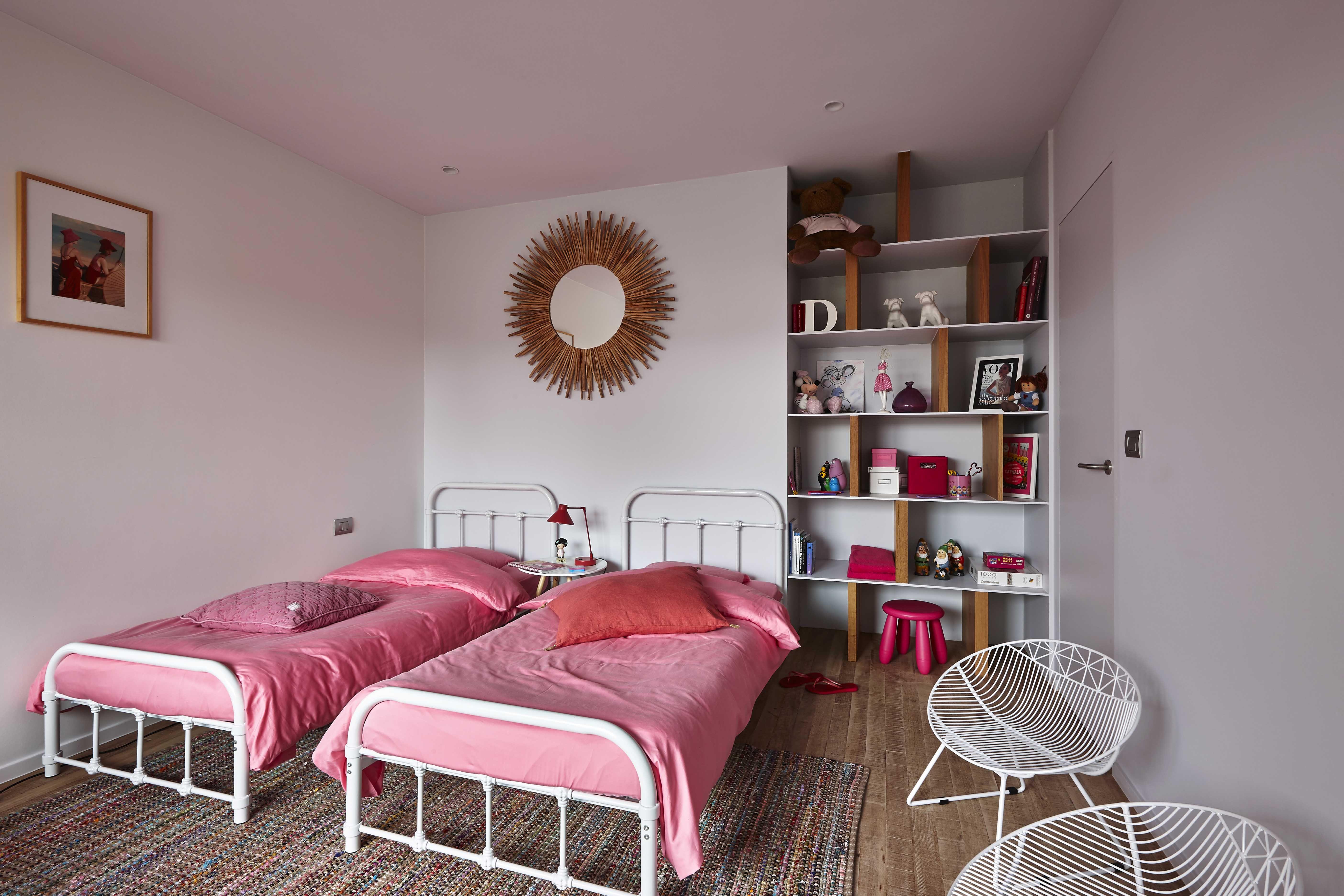 Architecte D Intérieur En Belgique chambre douillette pour deux petites filles dans une maison