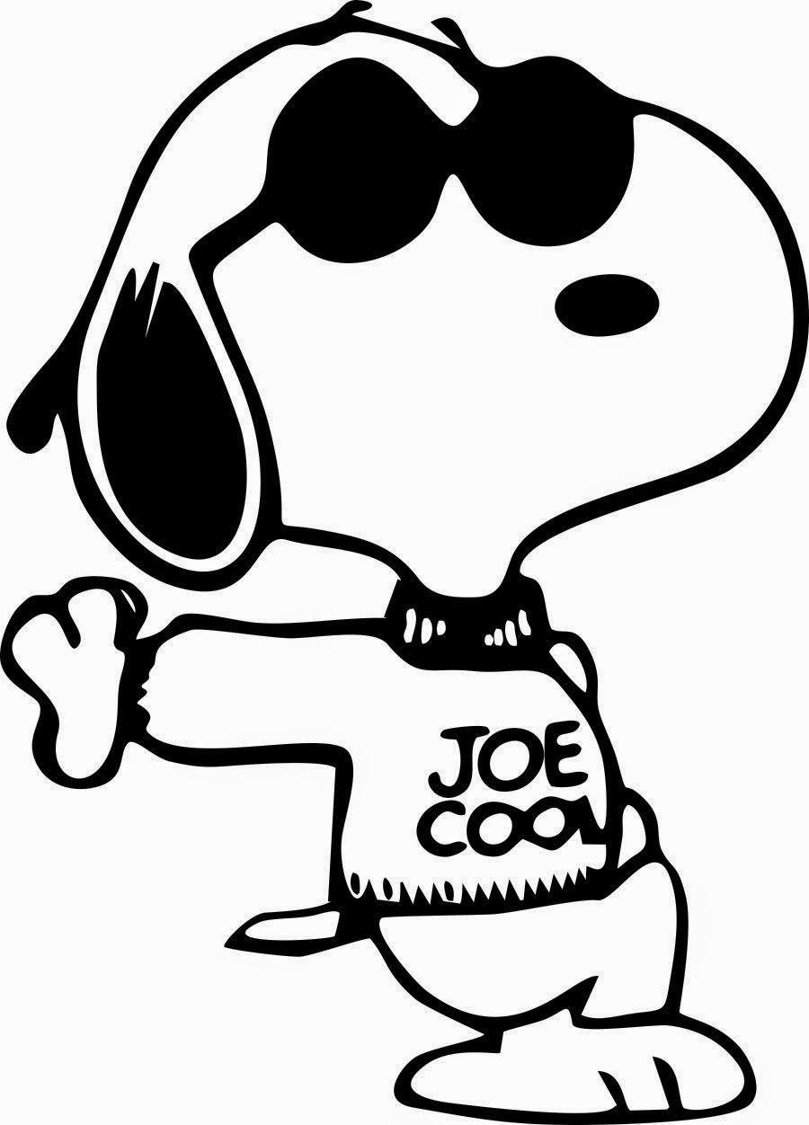 Desenhos do Snoopy e turma para colorir pintar imprimir - Espaço ...