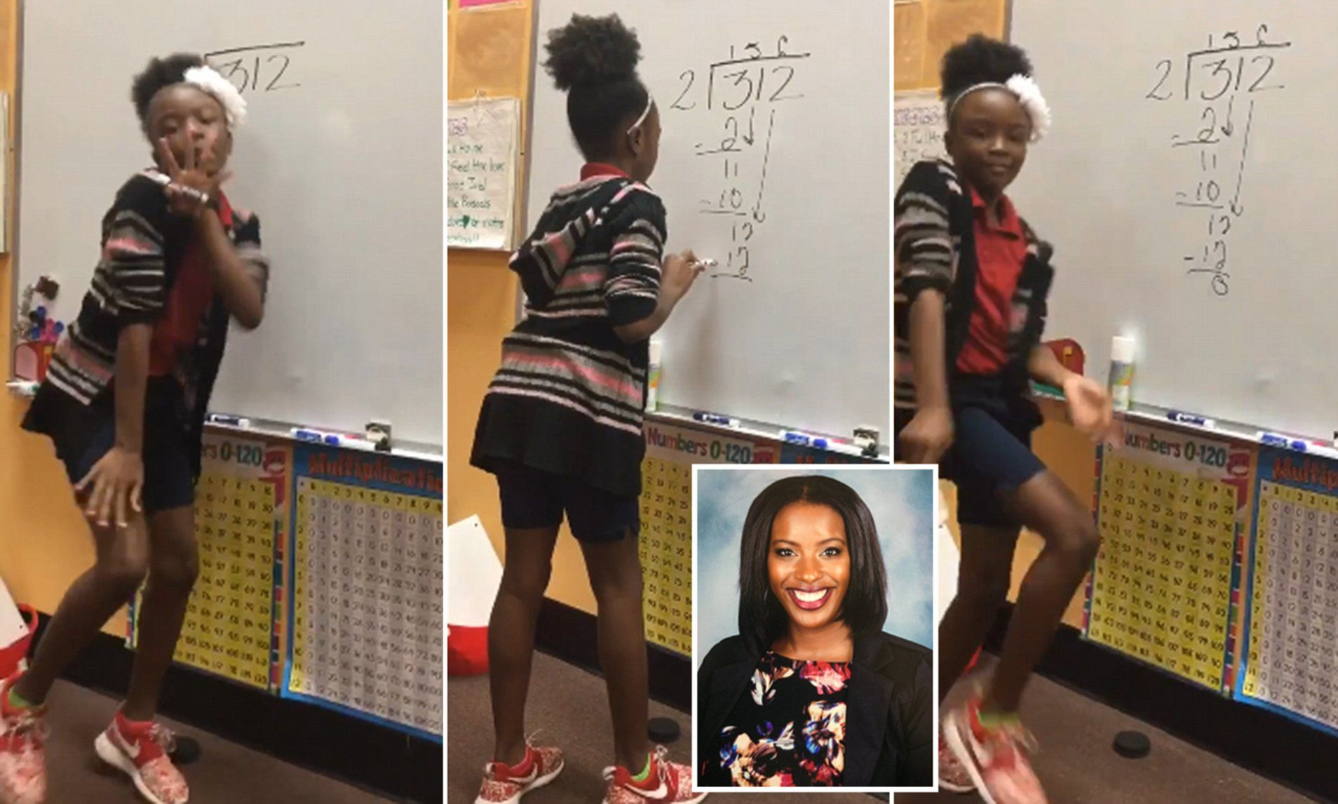 Students' create catchy song for remembering steps of long