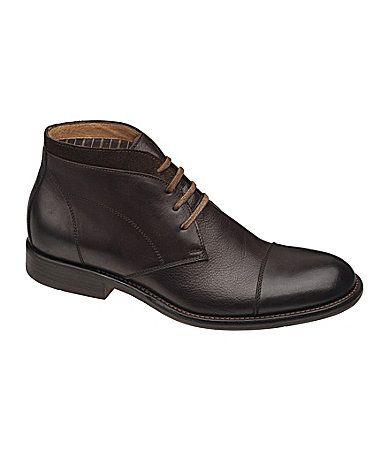 JandM Est 1850 Mens Decatur Chukka Boots #Dillards