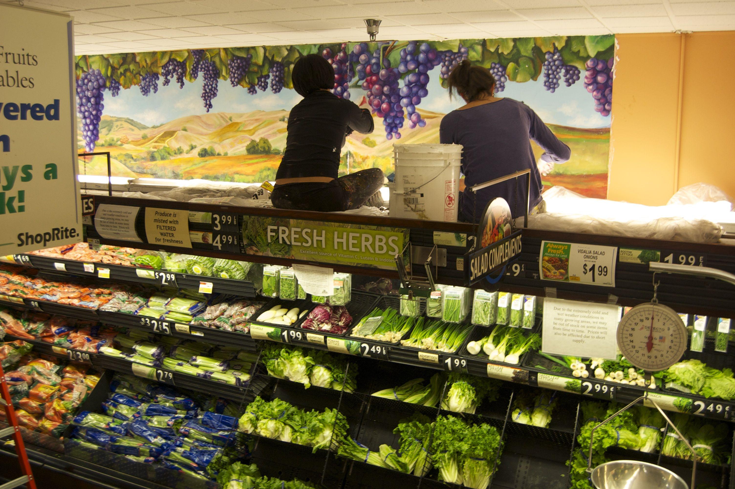 Vineyards- Colligas Family Markets, ShopRite, Snyder Plaza, Philadelphia, PA.
