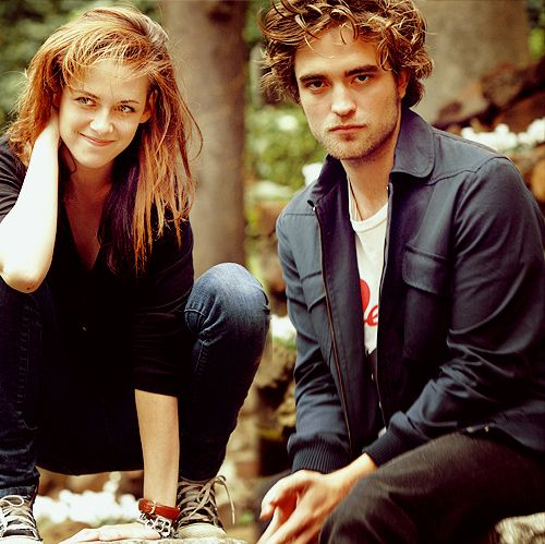 Robsten Dreams: Robsten Pic of the Day ~ RK photoshoots together, always a win. -- Rome Photoshoot, Oct 2008