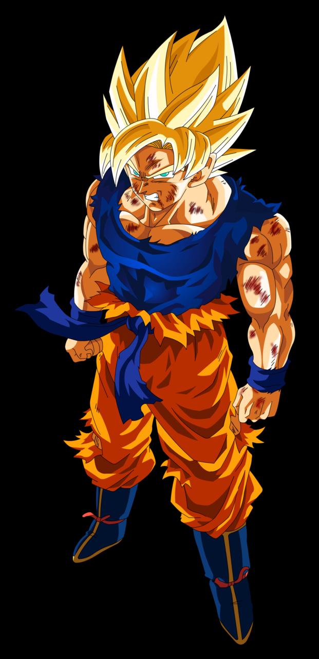 Goku SSJ by robertDB on DeviantArt  DBZ  Pinterest  Art