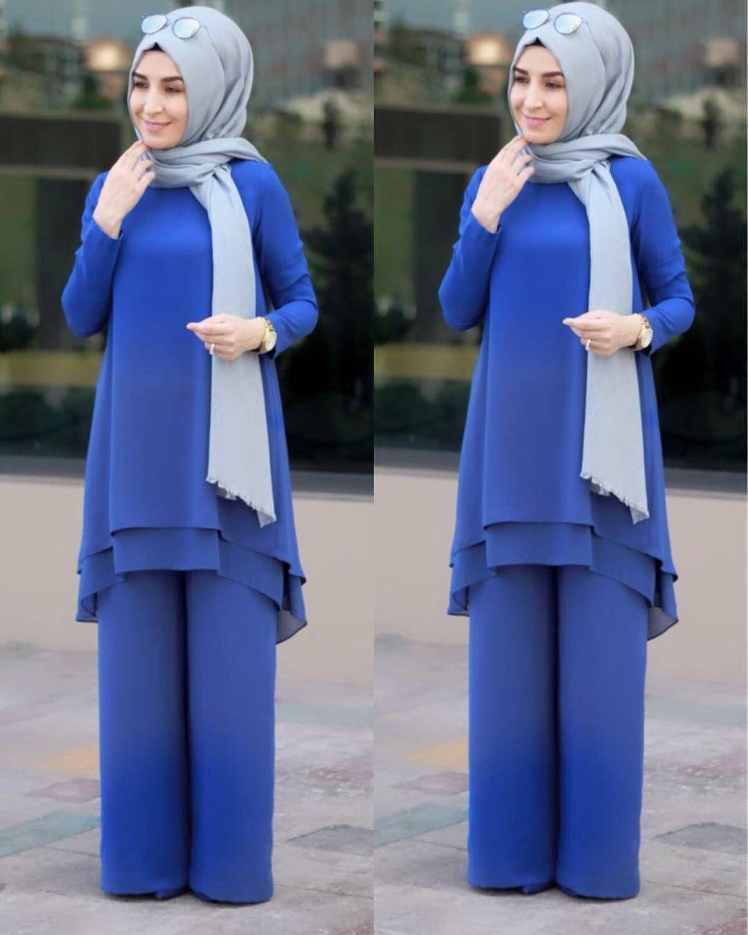 118 Begenme 1 Yorum Instagram Da Sal Dunyasi Saldunyasii Hanimlar Tunik Ve Pantolon Dan Olusan Yepyeni Takimimiz Yeniden Tunik Hijab Chic Islami Moda