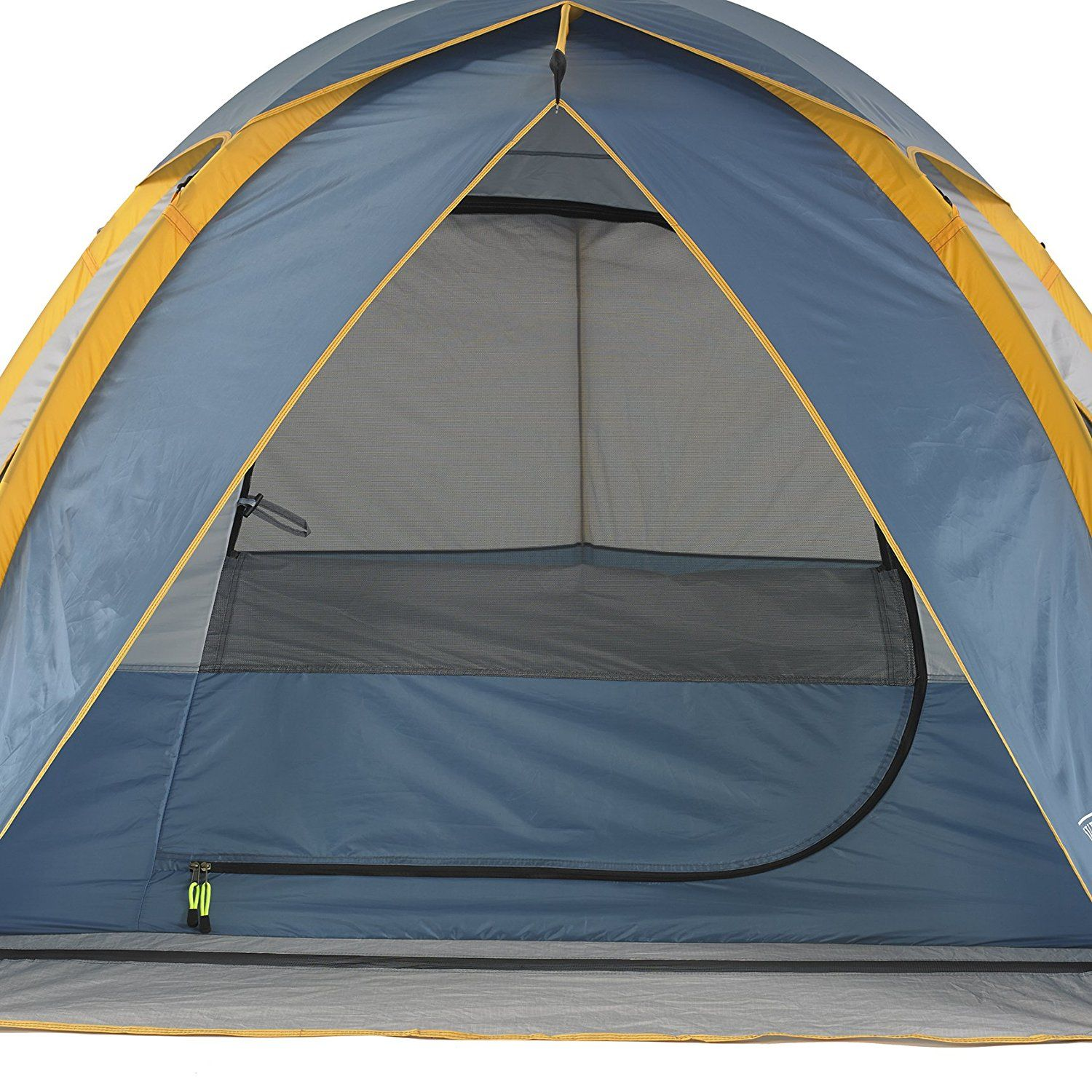 Wenzel Three Person Alpine Tent. Shock-corded fiberglass frame for quick and easy setup  sc 1 st  Pinterest : tents easy to put up - memphite.com