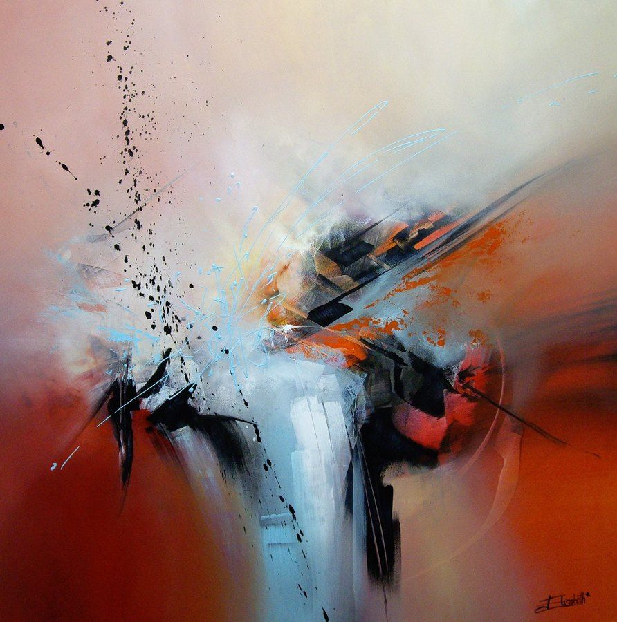 impact 100 100 elizabeth roche alizat abstract painting pinterest paintings painting. Black Bedroom Furniture Sets. Home Design Ideas