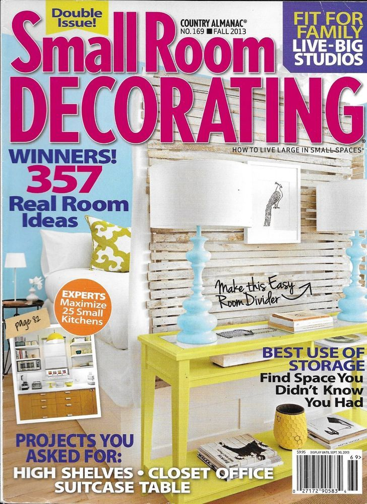 Details about Small Room Decorating Magazine Storage High ...