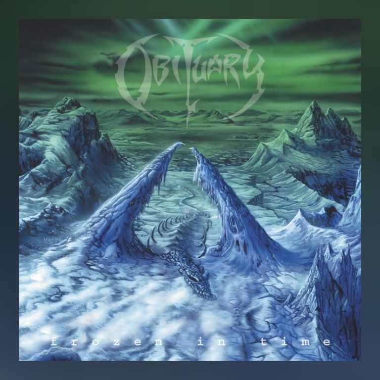 Obituary - Frozen In Time (2005). Stunning album from one of my most favourite Death Metal bands. John Tardy is god.