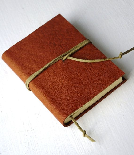 Leather Journal LINED paper Small Diary Jotter Leather Gift for - color lined paper