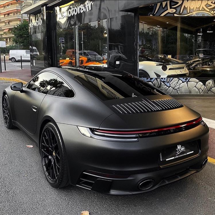 Rate This Porsche 992 1 To 100 Black Porsche Super Cars Porsche Cars