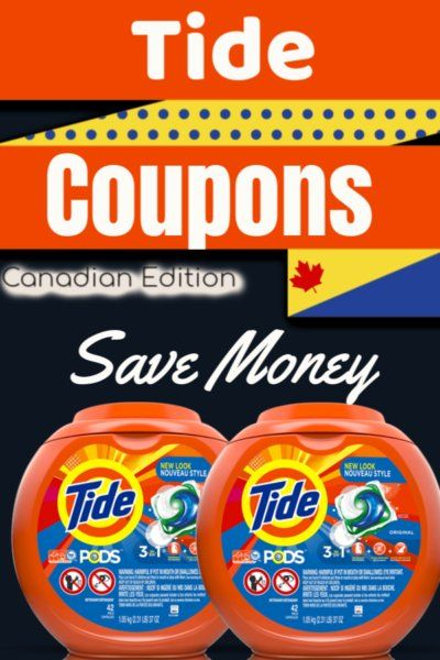 Tide Coupons For Canada 2019 Printable Savings Available