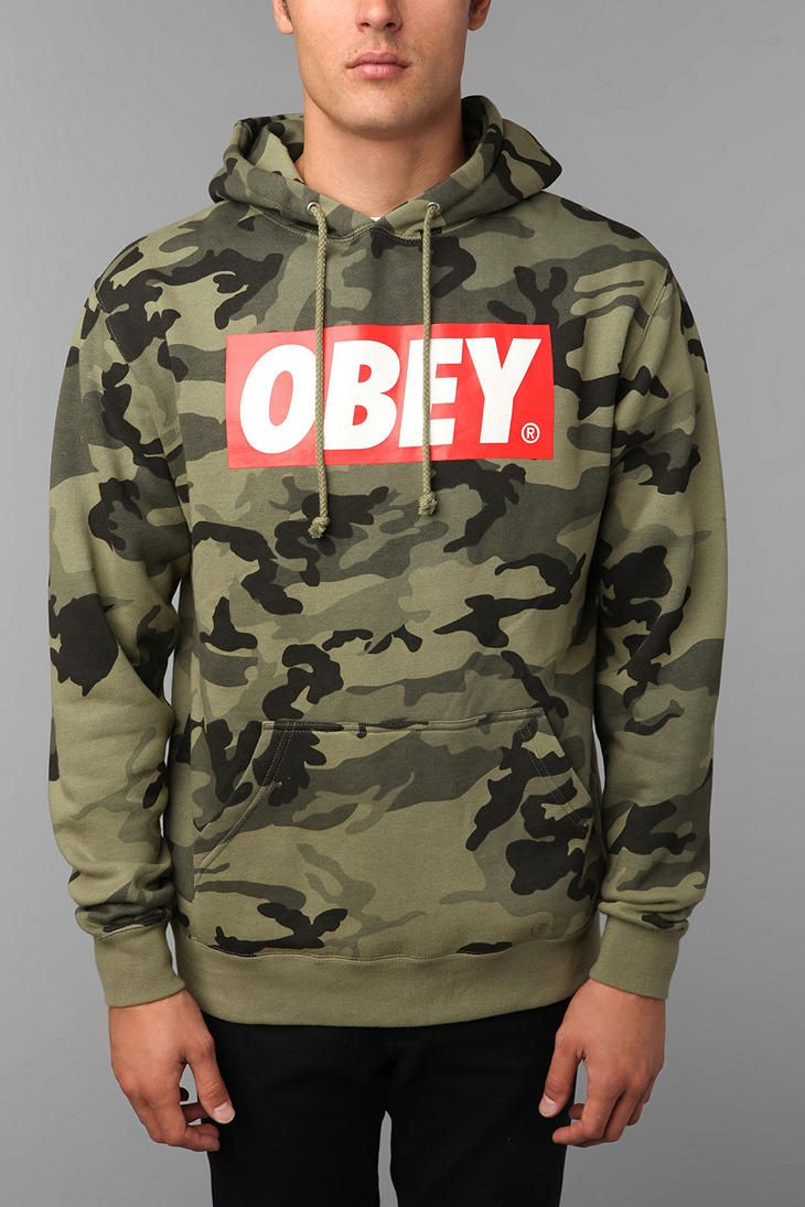 OBEY Camo Sweatshirt | I Like My Men Sharp... | Camo ...