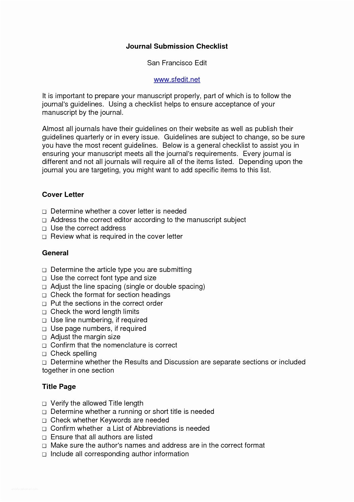 27 Cover Letter For Journal Submission Resume Cover Letter