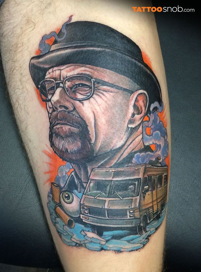 Breaking Bad, Tatuagem, Tatoo