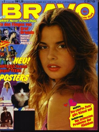 magazine Bravo teen girl german
