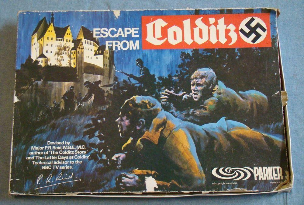 Vintage Escape from Colditz board game Complete Parker