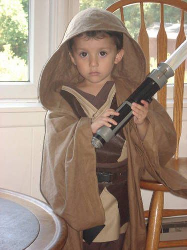 How to: Jedi Robe for kids (easily adapted for adults too) - OCCASIONS AND HOLIDAYS...Which i am using to make a boxer robe...adjust to make hat and sleeves smaller