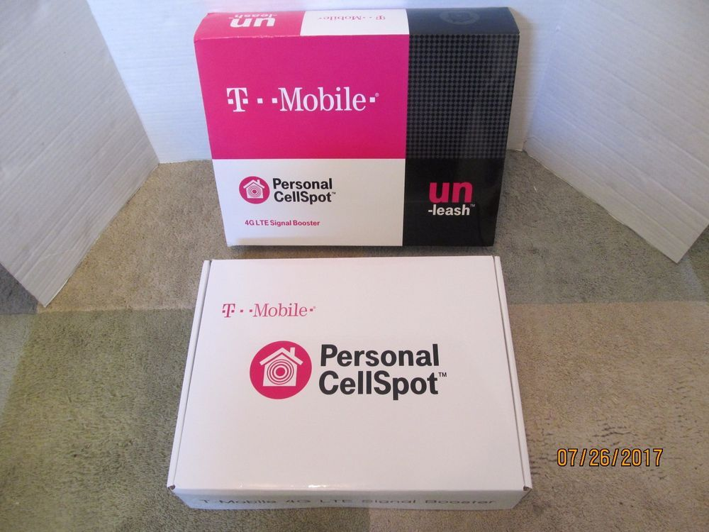 T-MOBILE PERSONAL CELL SPOT 4G LTE SIGNAL BOOSTER (NIB