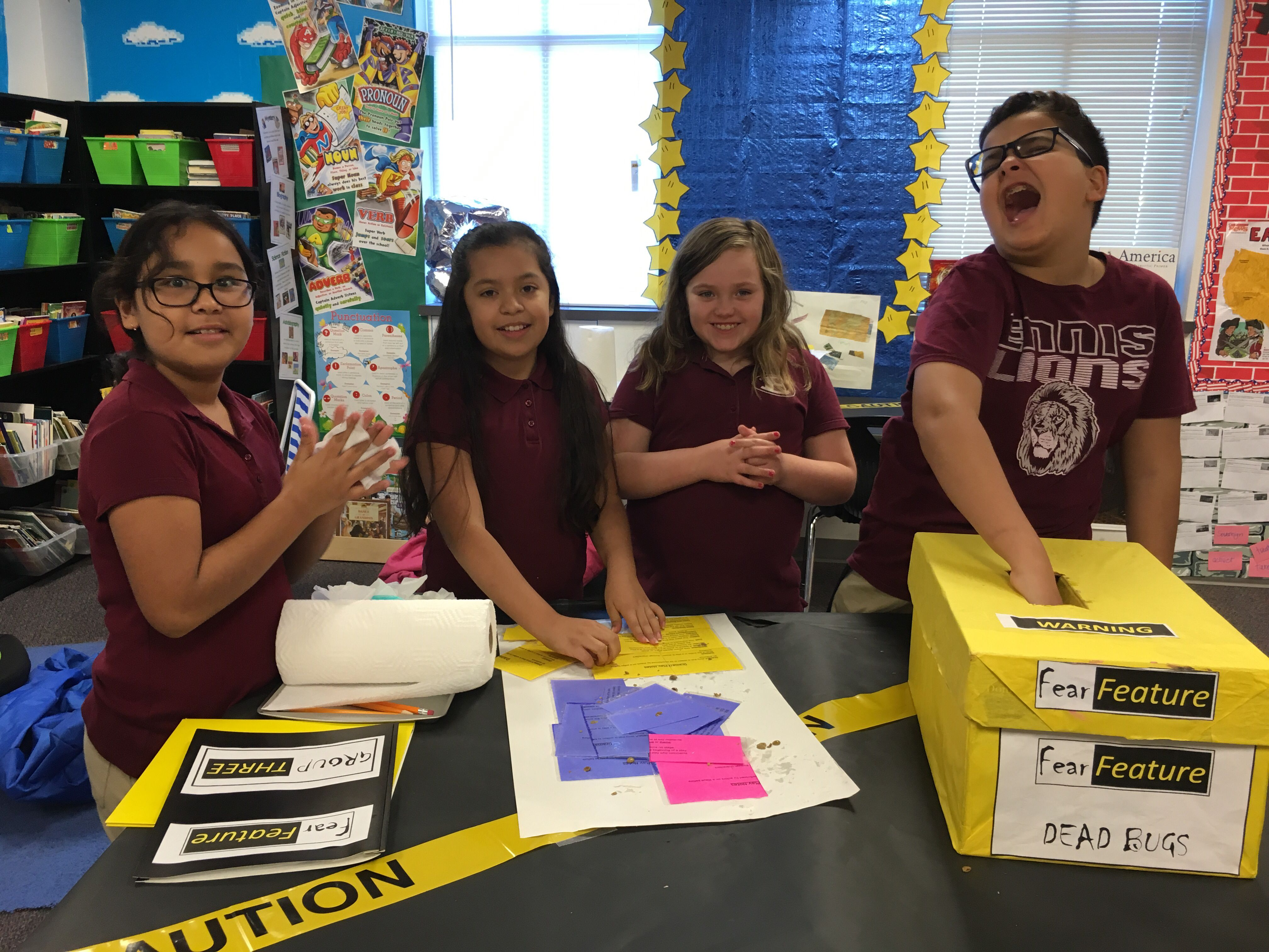 Fear Factor Feature Interactive Classroom Challenge