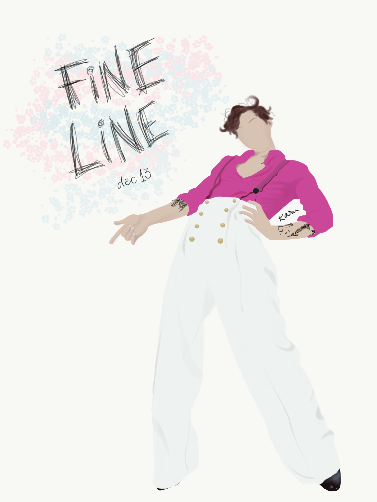 Fine Line By Harry Styles Harry Styles Poster Harry Styles Drawing Harry Styles