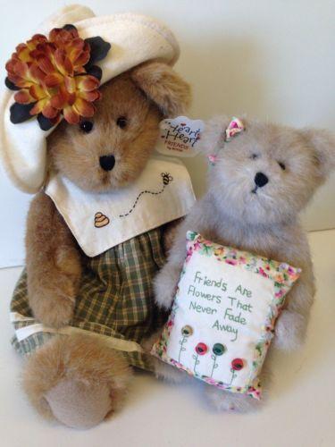 Erin * Heart To Heart * & Mia Goodfriend Boyds Bear Friendship Bundle