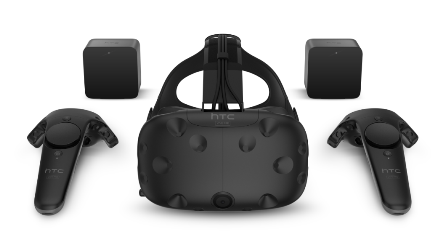 HTC VIVE VR Virtual Reality 3D Headset – Retail Consumer