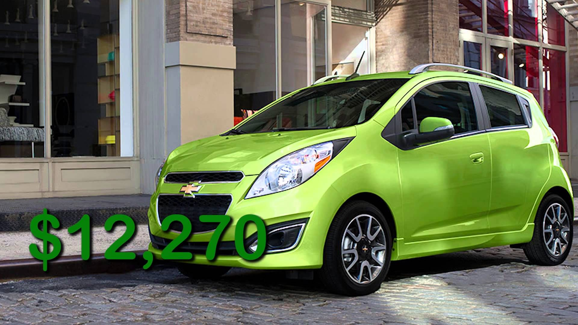 Four Cheapest Cars In America Versa Vs Spark Vs Mirage Vs Fortwo With Images Chevrolet Used Cars Cheap Used Cars