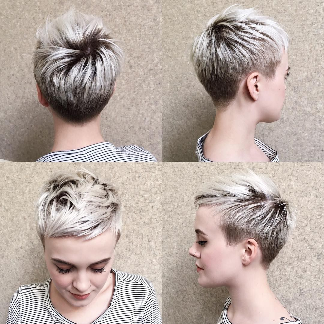 10 Peppy Pixie Cuts - Boy-Cuts & Girlie-Cuts to In