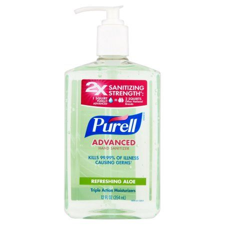 Amazon Com Purell Advanced Hand Sanitizer Gel Refreshing Aloe 1