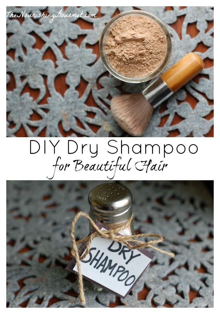 Easy Diy Dry Shampoo For Beautiful Hair Recipe Diy Dry Shampoo Dry Shampoo Diy Beauty Gifts