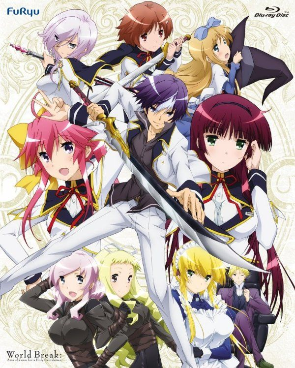 Seiken Tsukai No World Break Streaming : seiken, tsukai, world, break, streaming, Seiken, Tsukai, World, Break, Japanese, Cover, Anime,, Fantasy, Anime
