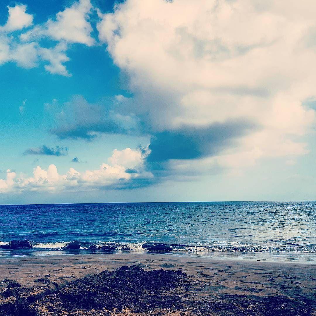 Hasta la vista. Letzter Tag am Meer. #hastalavista #mare #cielo #wolken am #himmel #sanaugustin #playa #strand #beach #laspalmas #playadelingles #grancanaria #kanaren #islascanarias #españa