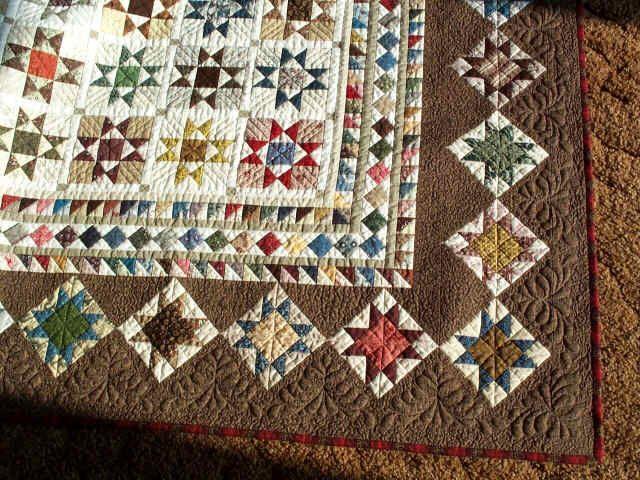 Millennium Stars Pattern Sue Garmin Made With Civil War Repro Mesmerizing Civil War Quilt Patterns