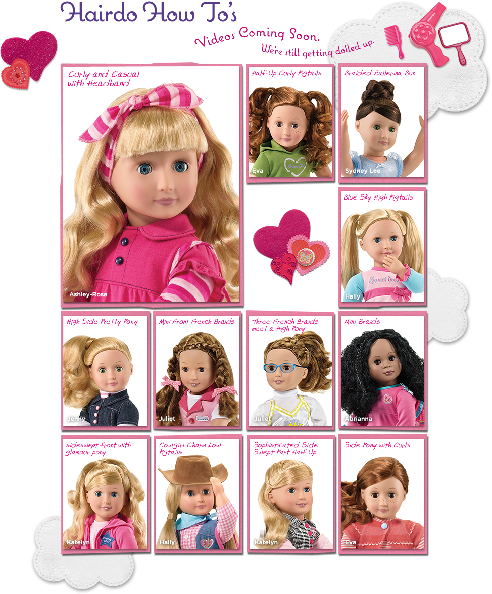 Amazing 1000 Images About American Girl Doll Hairstyles On Pinterest Short Hairstyles Gunalazisus